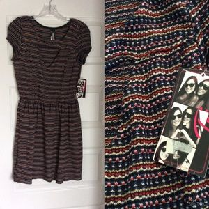 TRIXXI Dress with Triangle Cut Out NEW